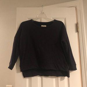 Madewell Crop Sweatshirt XS